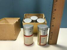 Vintage / Antique Specimen Sample Metal Cans (Science, Medical, Geology,.?)
