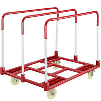 Panel Mover - 5'' Swivel Casters, Steel Panel Moving Dolly 2400lbs Capacity