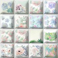 Flower Decor Bed Print Novelt Floral Soft Sofa Pillow case Cover Home Cushion