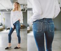 Citizens of Humanity Rocket High Rise Crop Skinny Jeans in Weekender; 29