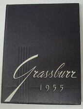 1955 Tarleton State College Yearbook / Stephenville, TX. * Grassburr * LQQK