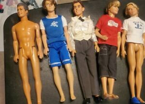 Vintage Ken Dolls and misc no box as is