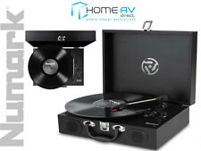 NUMARK PT01 TOURING Portable Record Vinyl Player With Built in Speakers & USB