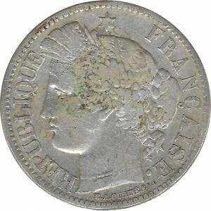 FRANCE 2 FRANCS CERES 1870 A petit A TB+