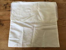 Used - COVER BAG  FUNDA BOLSA - Cotton - 30 x 30 cm - White color Blanco - Usado
