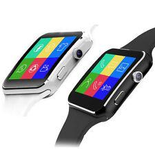 X6 Bluetooth Reloj Inteligente Pulsera Pantalla Táctil Sim Con Cámara Teléfono