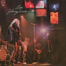 JOHNNY AND WINTER - LIVE  VINYL LP NEW!