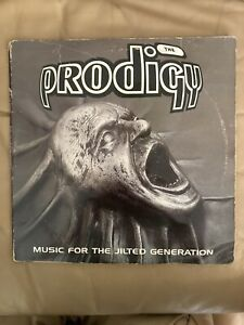 The Prodigy - Music For Jilted Generation -  2x Vinyl LP - XLLP 114.  1st  Press