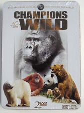 NEW Champions Of The Wild (DVD, 2008, 3-Disc Set, Tin)