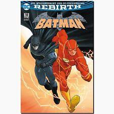 BATMAN 10 VARIANT Limitiert 999 DC SC Rebirth Das große Flash PANINI NEU