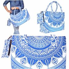 Bag Tote Beach Shoulder Handbag Clear Shopping Large New Purse Cosmetic Carrier