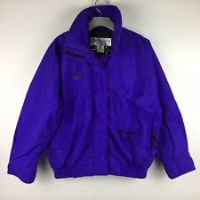 Columbia Purple Winter Ski Whirlibird Jacket Shell Coat Medium A18
