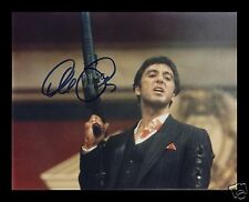 AL PACINO - SCARFACE AUTOGRAPHED SIGNED AND FRAMED PP PHOTO POSTER
