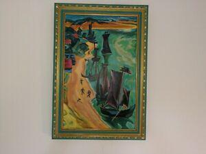 Nidden Anglerboote - Max Pechstein