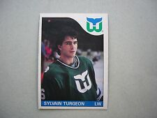 1985/86 O-PEE-CHEE NHL HOCKEY CARD #43 SYLVAIN TURGEON NM SHARP!! 85/86 OPC