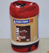 Miami Heat Hard Knocks 50 x 60 Fleece Throw Blanket NBA Basketball