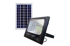 Faro LED SMD 100 W pannello solare energia crepuscolare telecomando JF-8800