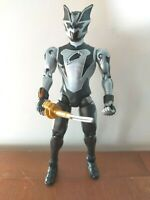 "BLACK BAT RANGER 6"" FURY JUNGLE FURY Power Rangers BANDAI ACTION FIGURE"
