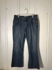 LEVIS WOMENS JEANS BLUE STRETCH LOW RISE BOOT CUT MISSES 6 SHORT 28IN INSEAM