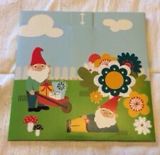Cute Gnome Greeting Card 3D Pop Up Garden Gnomes Blank Card Flowers Cute