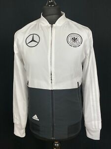 Adidas Germany DFB Pre Match Track Jacket BNWOT Men's S Mercedes-Benz Soccer Top