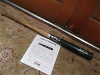 Jacoby Ellsbury Game Used Rawlings Baseball Bat PSA Certified