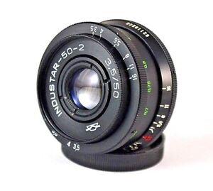 INDUSTAR  50 - 2  50 mm  f  3,5  Lens Copy Tessar mount m42
