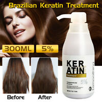 PURC 300ml Pure Keratin Straightening 5% Treatment Hair Care Repair Healing Hair