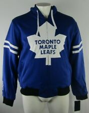 Toronto Maple Leafs NHL G-III Men's Blue Reversible Mid Weight Designer Hoodie