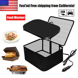 24V Electric Lunch Box Portable Personal Mini Oven Food Warmer for Truck Driver