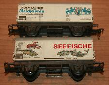 Fleischmann Modellbahnen der Spur H0 für Wechselstrom-Güterwagen