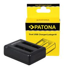 Patona Dual USB Quick Charger Ladegerät Lader Xiaomi Yi AZ13H Battery Akku Accu