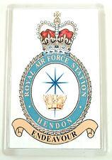 RAF Royal Air Force Station Hendon crested Fridge Magnet