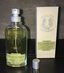 NEW Le Couvent Des Minimes Verbena & Lemon Eau De Toilette Perfume 1.7 oz RARE