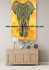 Hippie Tapestries Indian Bohemian Mandala Wall Hanging Elephant Art Throw Decor