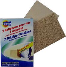 Delufix Reiningstücher für Bügeleisen im Doppelpack Putzlinge putzen reinigen