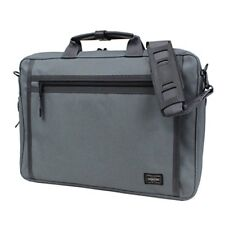 YOSHIDA PORTER  CLIP BRIEF CASE  550-08961 Gray With tracking From Japan