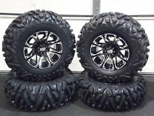 "CAN AM RENEGADE 800,850 25"" QUADKING ATV TIRE & STI HD3 M WHEEL KIT CAN1CA"