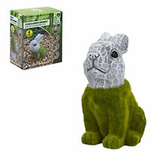 Roots and Shoots Flock Grass and Stone Effect Garden Ornament - Rabbit
