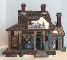 Dept 56 New England Village Series Pawtuck Furniture Maker 2007 #799923