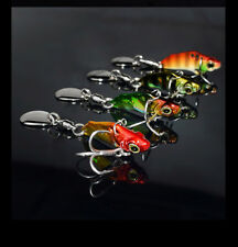 3g mini Bass Spinner Spinnerbait Fishing Bait Freshwater Saltwater Juyang Lure