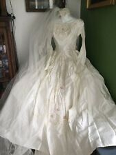 Beautiful Vintage 1960's Bianchi Wedding Dress