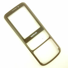 100% Genuine Nokia 6700c gloss black front fascia+screen lens Gun metal