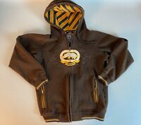 Men's Ecko Unlimited Thick Hoodie Size Small Brown
