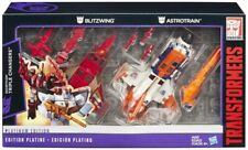 Blitzwing and Astrotrain Set of 2 | Transformers Platinum Edition G1 Reissue