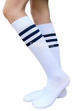 AM Landen®Ladies Super Cute Triple Stripe Knee-High Socks