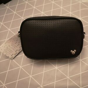 Mickey Mouse Icon Flair Convertible Pin Collecting Bag Black New with Tags