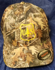 USFS United States Forest Service Logo Embroidered CAMO FlexFit Hat