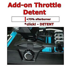 Saitek X55 / X56 Joystick Throttle Afterburner Detent ***Made in USA***