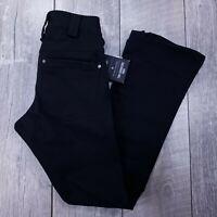 Burton White Collection Signature Snow Ski Pants Mens Medium Black Bootcut J00